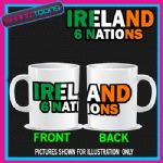 IRELAND 6 NATIONS RUGBY COFFEE MUG